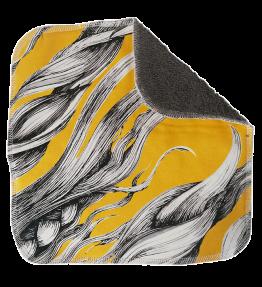 Ekologinen tiskiliina keltainen