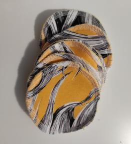 Kestovanulaput poniletti keltainen (5kpl)