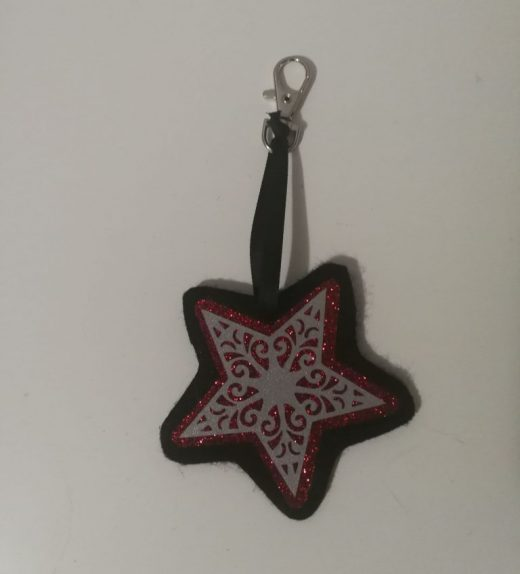 tähti musta-puna