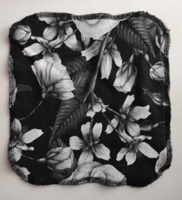 Ekologinen tiskiliina mu-va kukat