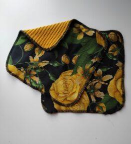 Ekologinen tiskiliina okrat ruusut
