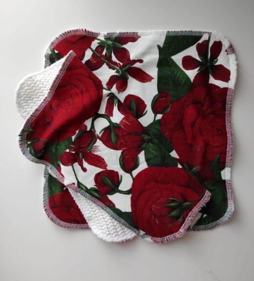 tiskiliina punaiset ruusut