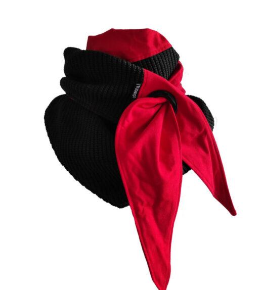 big knit puna-musta