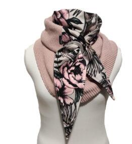 Purjerengashuivi serenity vaaleanpuna-lila.big knit.