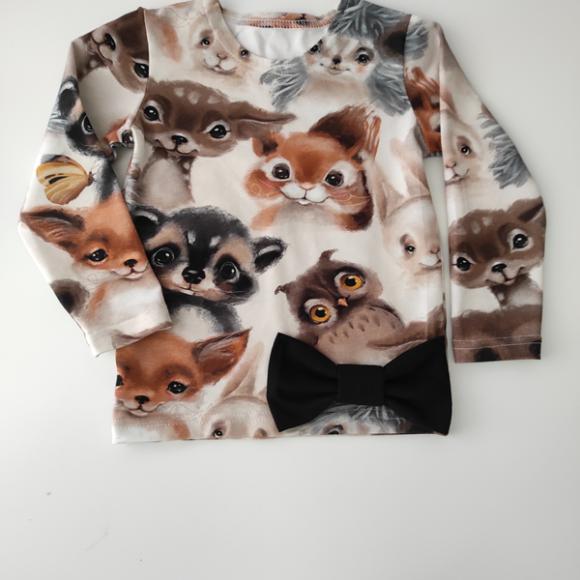 eläinystävät t-paita