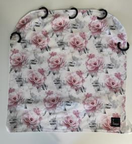 Vaunuverho hempeät ruusut