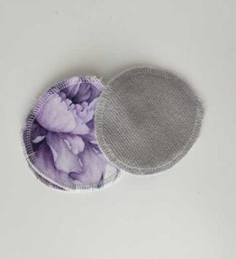 Kestovanulaput violetti-harmaa (5kpl)